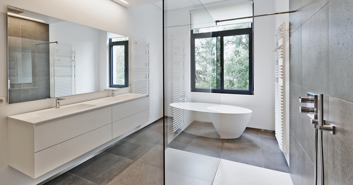 Bathroom renovation: size requirements