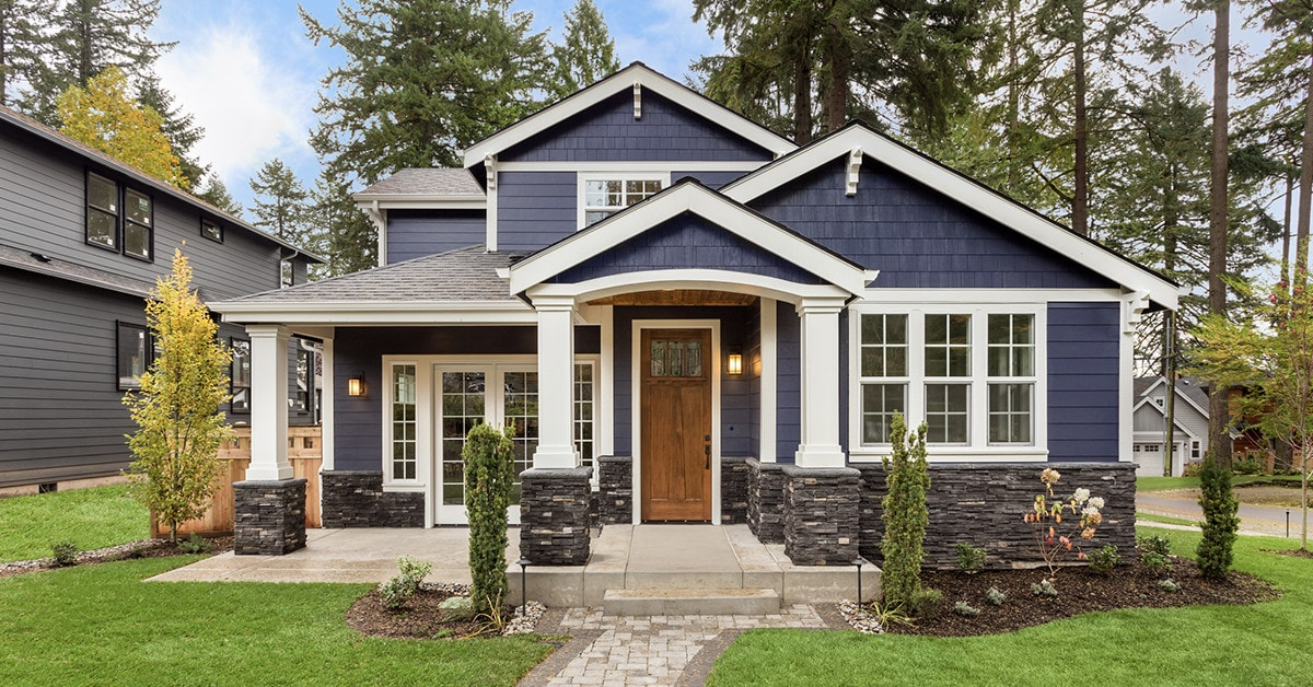 Install a pre-hung exterior entry door