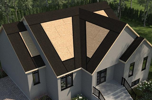 poser des bardeaux d asphalte rona. Black Bedroom Furniture Sets. Home Design Ideas
