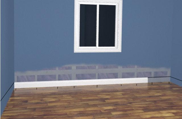 Installing baseboards | RONA