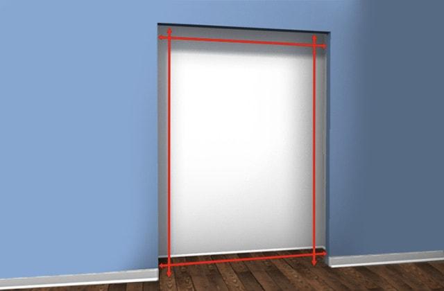 How To Install A Closet Sliding Doors Rona
