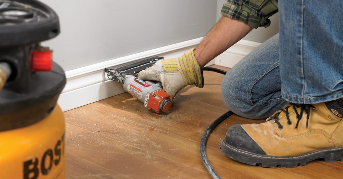 Install baseboards