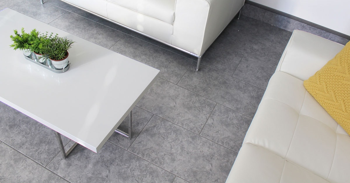 Laying sheet vinyl or linoleum flooring