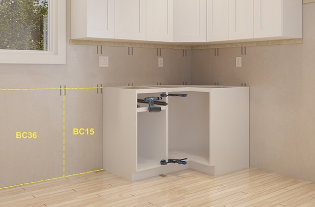 Install Pre Assembled Kitchen Cabinets Rona