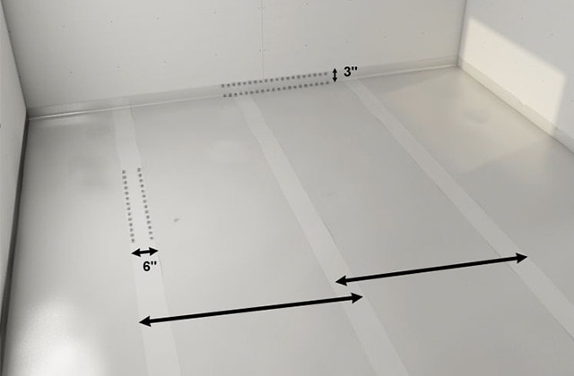 How-to install a wood subfloor over concrete | RONA