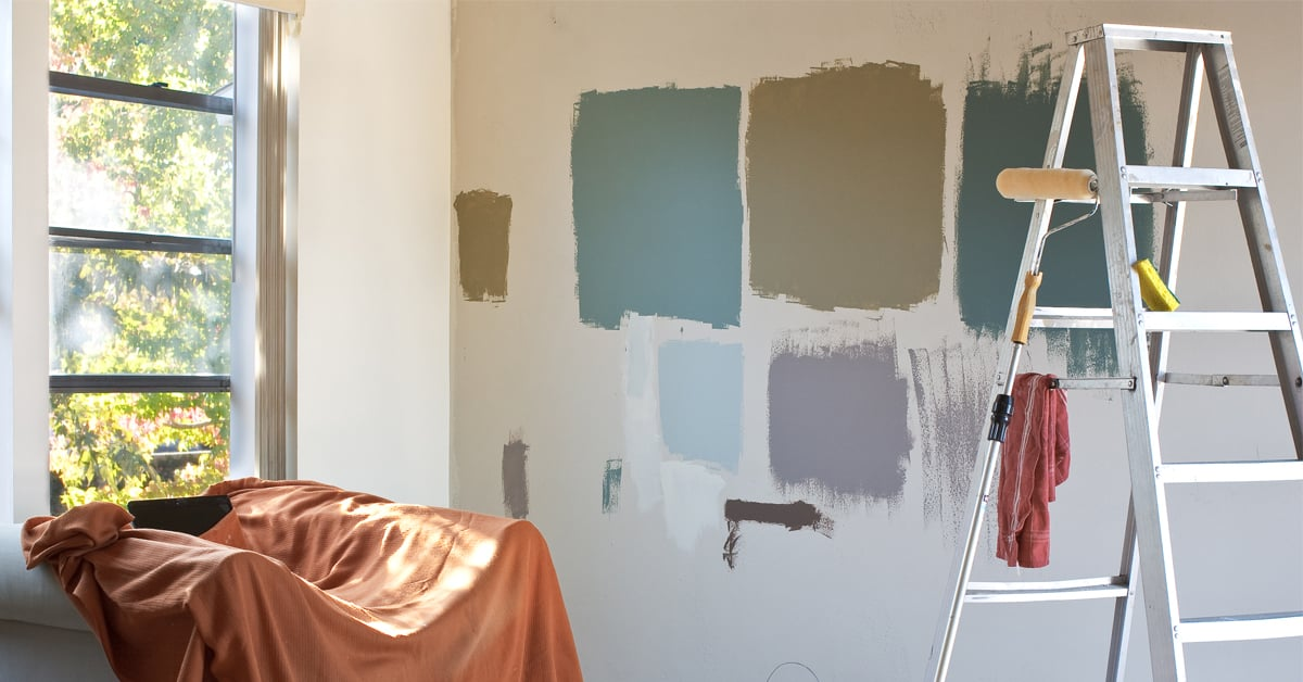 Paint the interior of your home