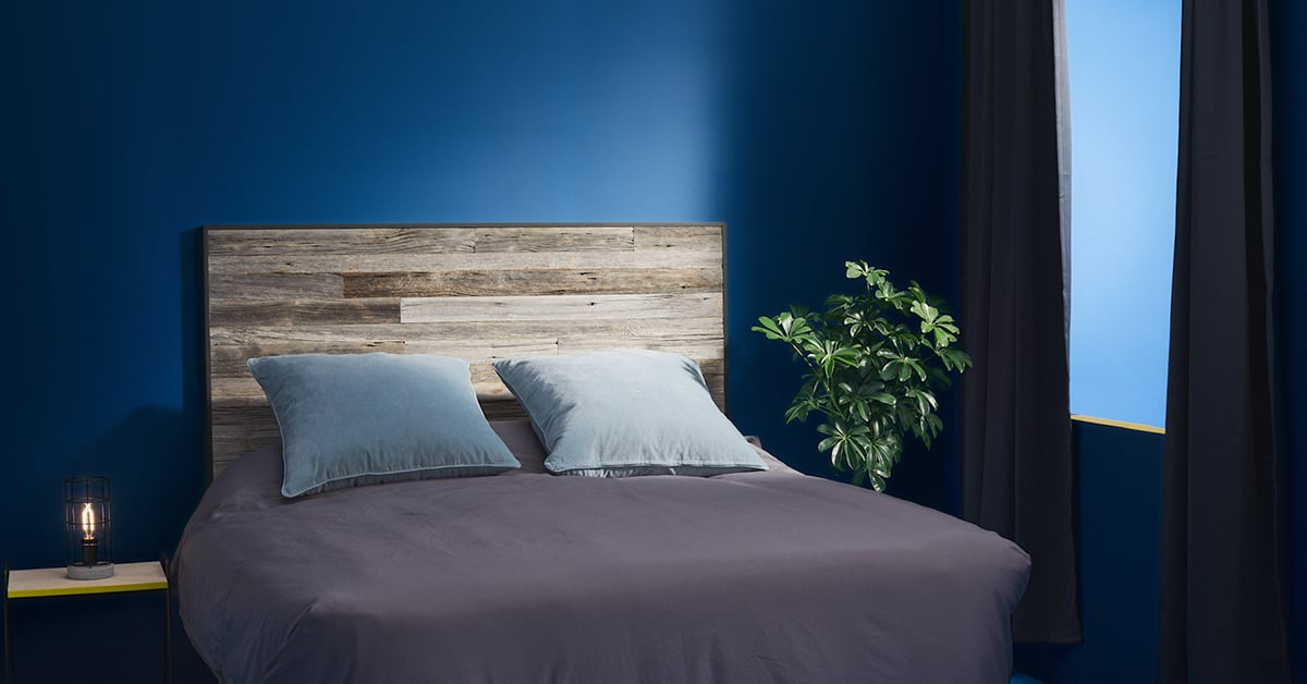 Recycled Wood Headboard