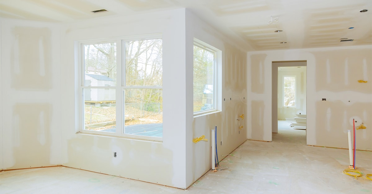 Install drywall panels