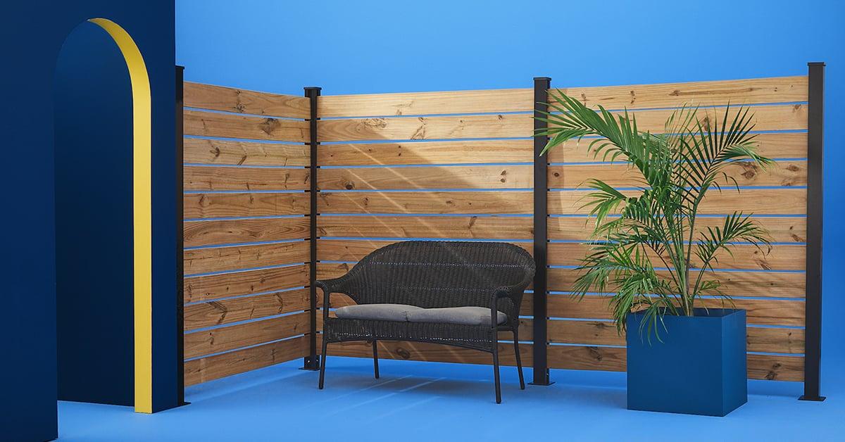 Diy Wood Fence Rona