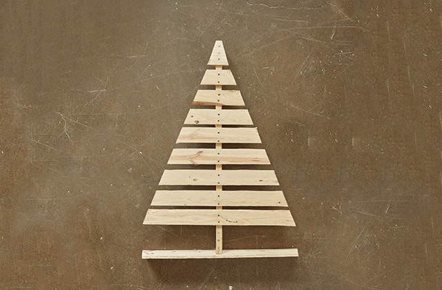 How to build a Christmas tree with