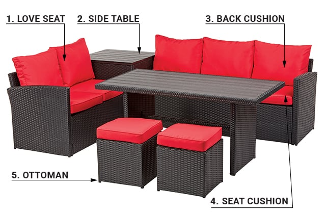 Choose Your Outdoor Furniture Rona, Canada Patio Furniture Clearance
