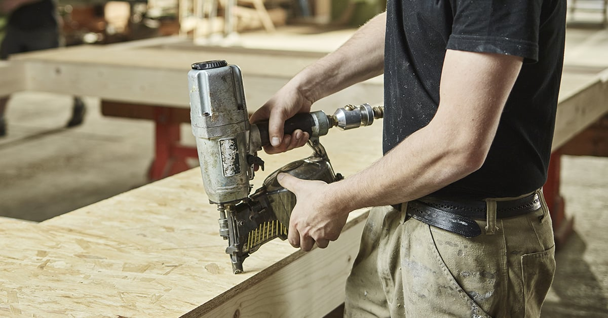 Choosing a Nailer or Stapler