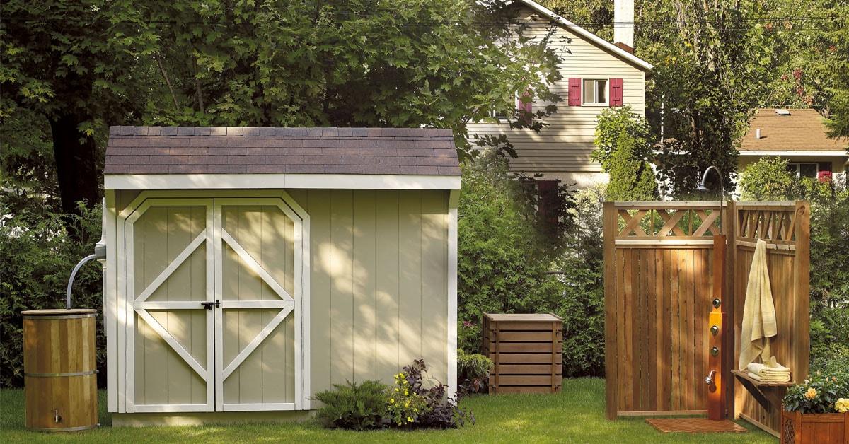 Planifier l installation d 39 un cabanon rona - Cabanon de jardin permis de construire ...