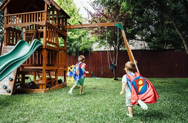 8d7618e2235fa Planifier la construction d'une structure de jeu pour enfants | RONA