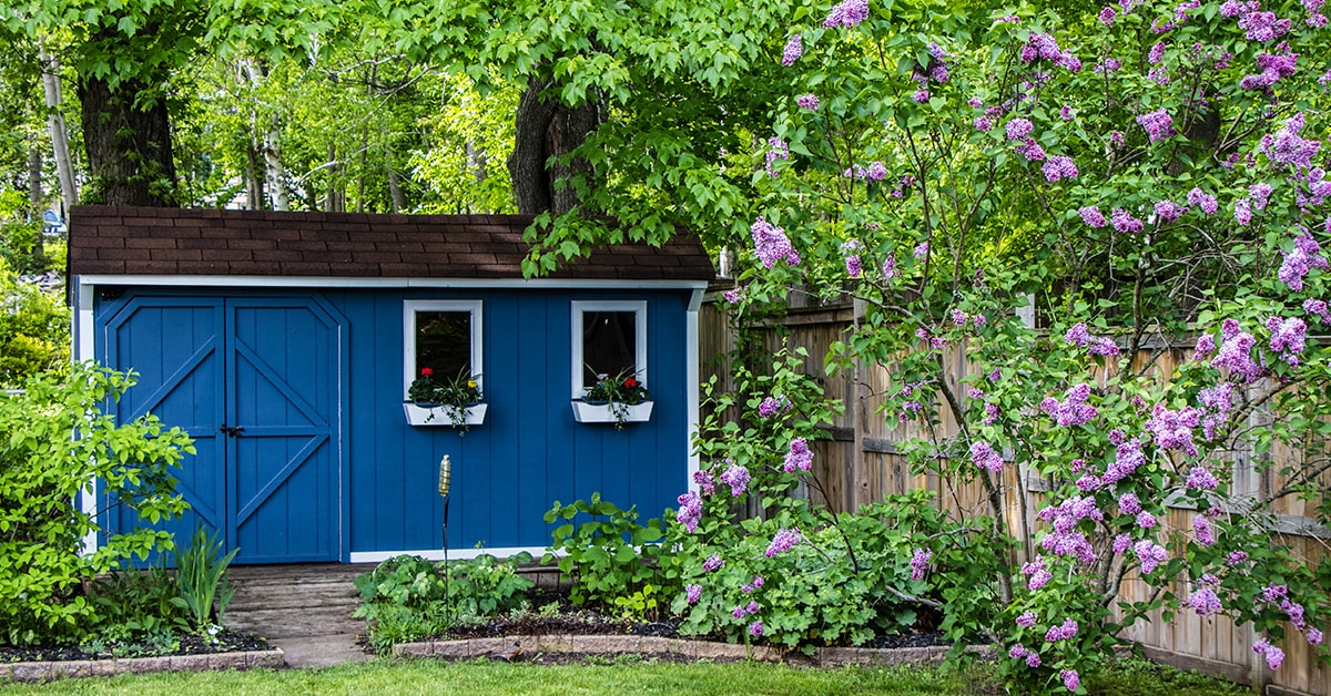 Storage solutions for your shed