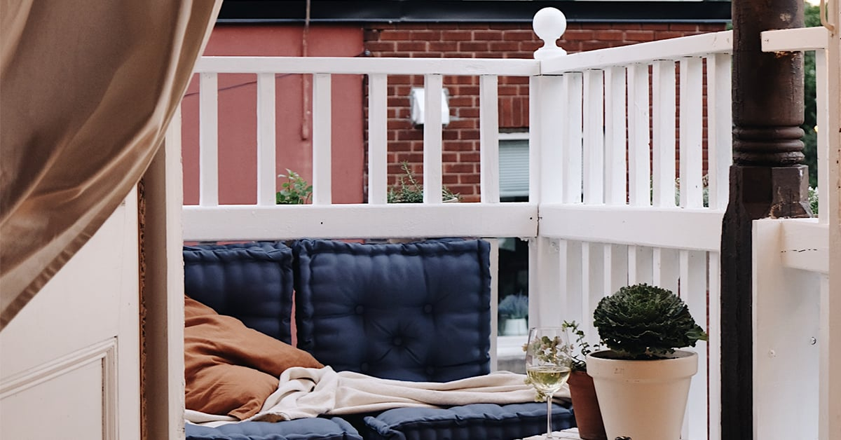 How to transform a balcony at little cost