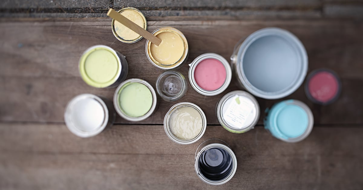 Change your décor with paint and stains