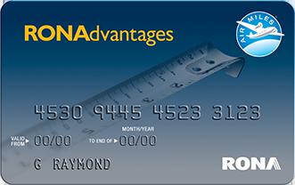 Carte Rona Accord D.Ronadvantages Program Rona