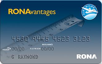 Carte Accord D Economax.Programme Ronavantages Rona