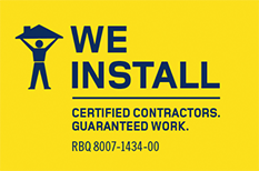 logo installation services