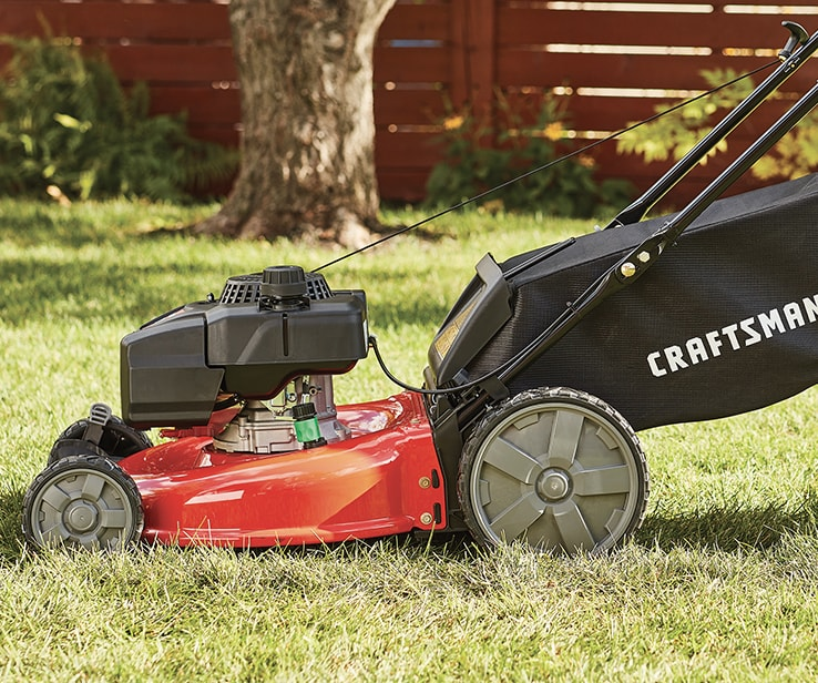 Craftsman gas lawn mower