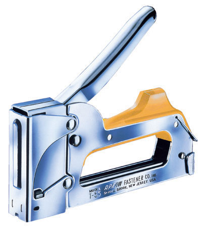 Staple gun T-55 - Chrome Finish