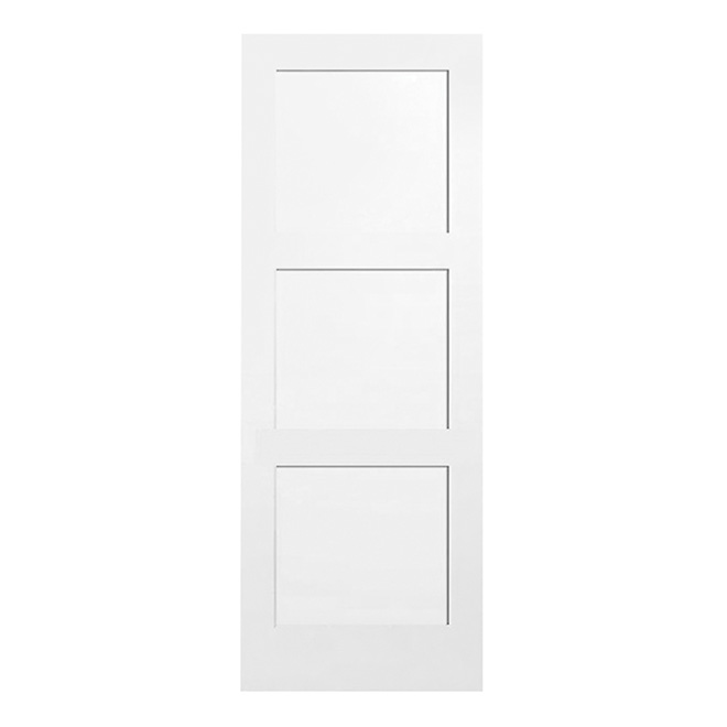 "Door - ""Shaker"" 3-Panel Interior Door 30 in"