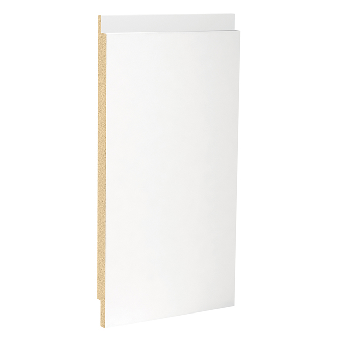 MDF Shiplap - Radius Edge - 1-in x 12-in x 8-ft