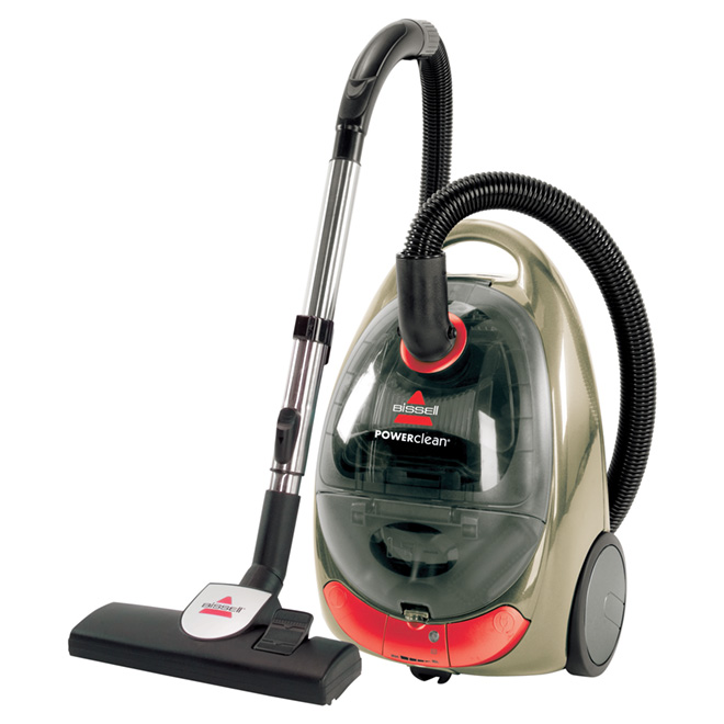 "Cyclonic Bagless Canister Vacuum - ""PowerClean"""