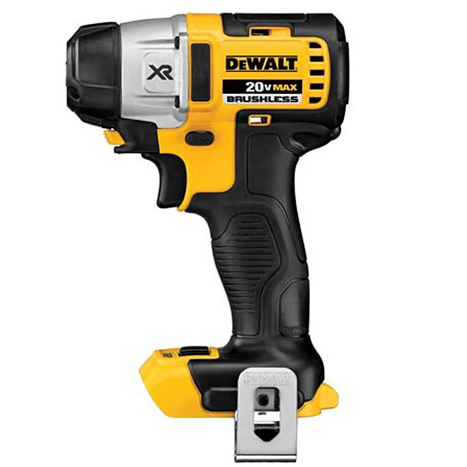 "Brushless 3-Speed Impact Driver - Cordless - 1/4"" - 20 V"
