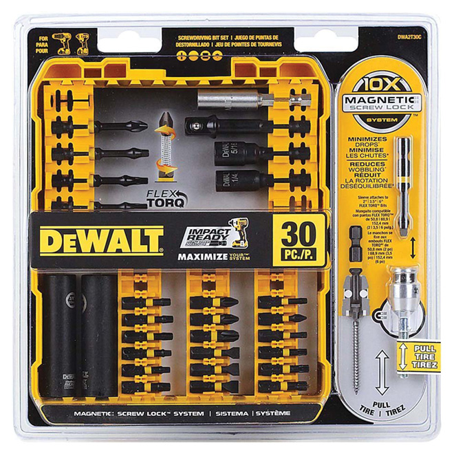 20-Piece Flex Torq Screwdriver Bit Set