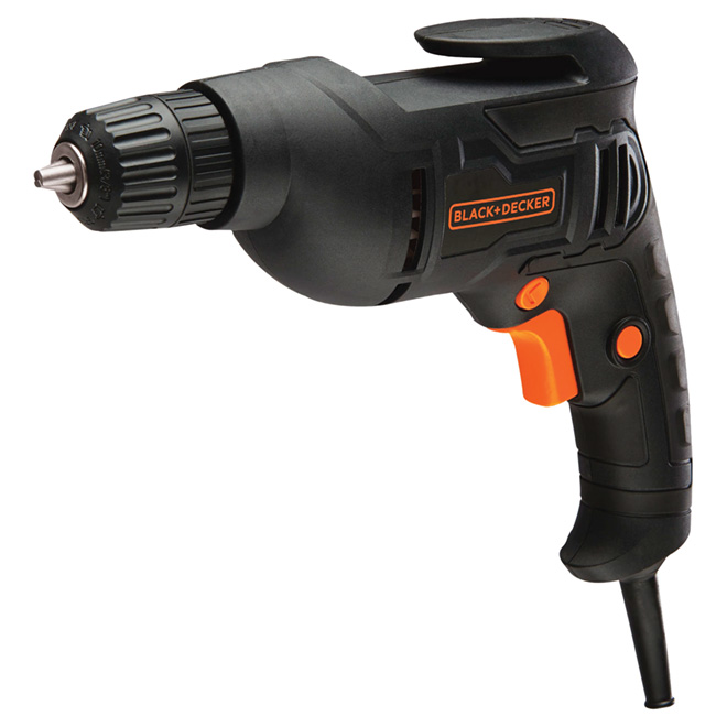 "Corded Electric Drill - 3/8"" - 3 A"