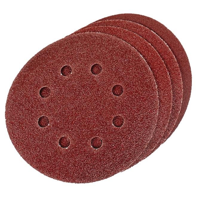 8-Hole Sanding Disc, 5 in - Pack of 4