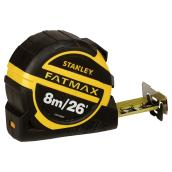 Locking Tape Measure - ABS/Rubber - SAE/Metric - 26'
