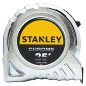Locking Tape Measure - Chrome-Plated - SAE - 25'