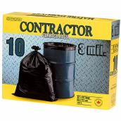 Contractor Garbage bags 147 L - Box of 10