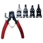 Snap ring pliers set