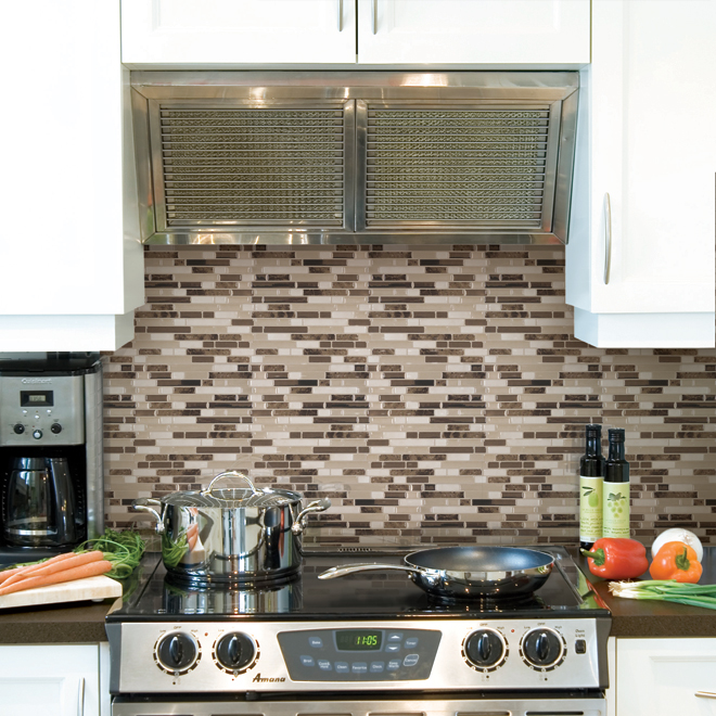 Kitchen Backsplash Youtube: Self-Adhesive Wall Tile - Bellagio Bello