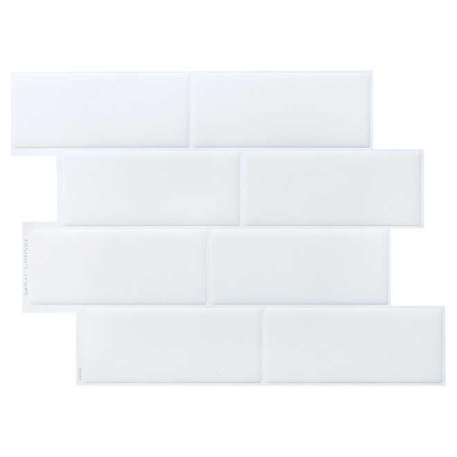 Self-Adhesive Wall Tile - Metro Blanco