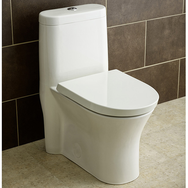 Elongated Front 1 Piece Toilet Cosette 3 5 L 4 8 L