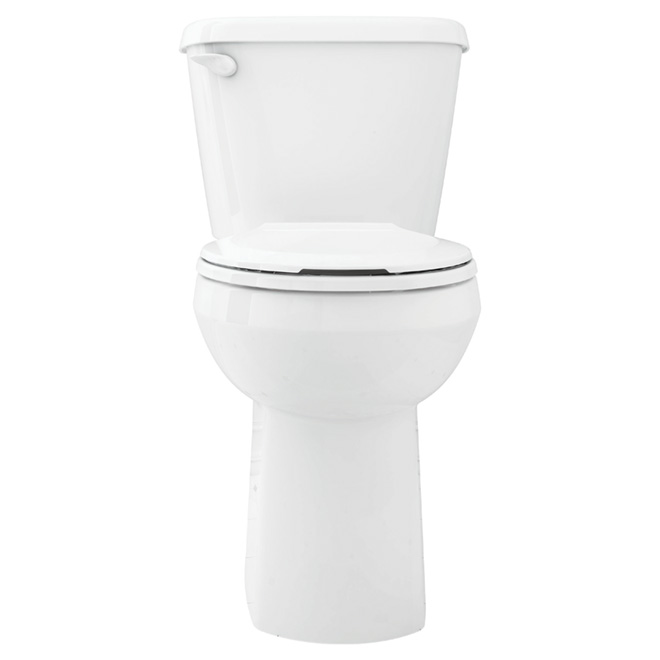 Elongated Front 2-Piece Toilet, Marina, 4,8 L, White
