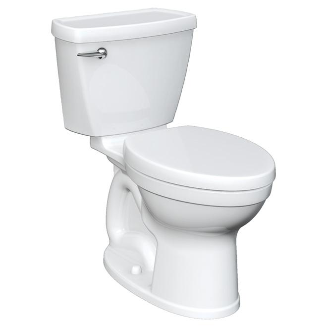 toilette 2 pi ces cuve allong e champion 4 8 l blanc rona. Black Bedroom Furniture Sets. Home Design Ideas