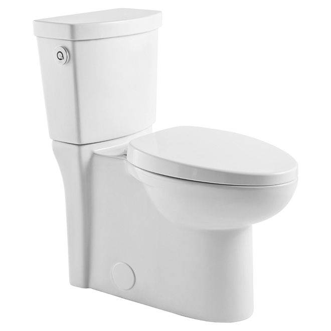 Activate Elongated Toilet 4.8 L - White