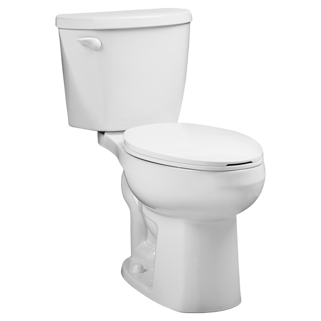 Elongated Front 2-piece toilet - Waterwarden - 4.8 L - White
