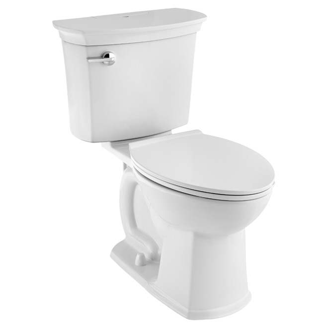 Elongated Front Self-Cleaning Toilet Bowl - 4.8 L - White