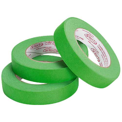 Masking Tape - Green - 3-Pack
