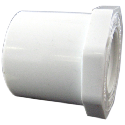 "Industrial PVC Reducer Bushing - 2""-1 1/2"" - White"