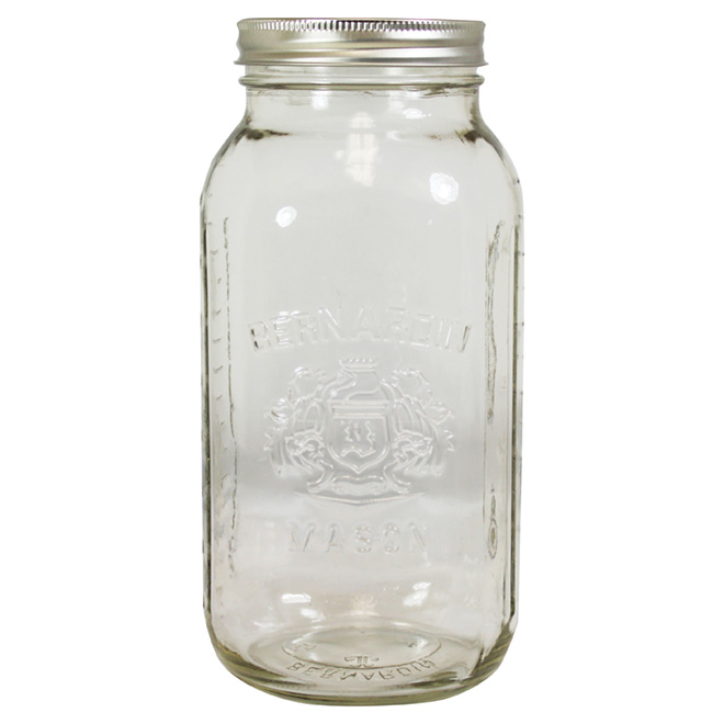 Mason Jars 1.9L - Box of 6