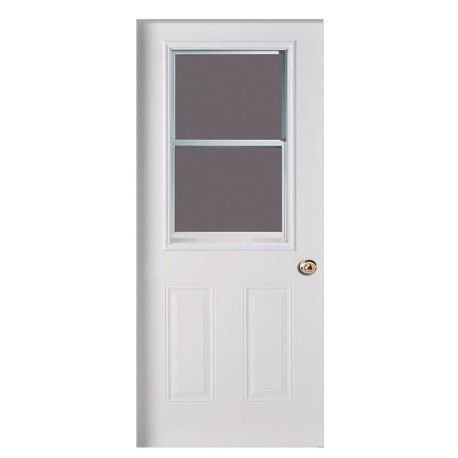 Porte en acier rona for Masonite porte exterieur