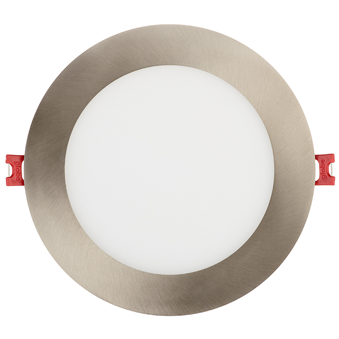 Dimmable Recessed Light - Slim - 12W LED - Brushed Nickel